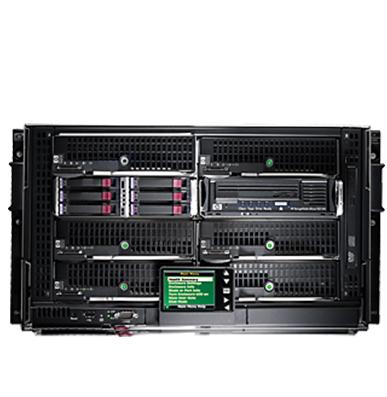 HPE BladeSystem c3000 Enclusure - انکلوژر c3000 hp - سرور BladeSystem