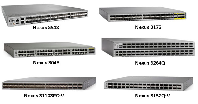 سوئیچ های سری Nexus 3000 سیسکور
