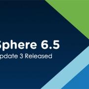 VMware vSphere 6.5 Update 3
