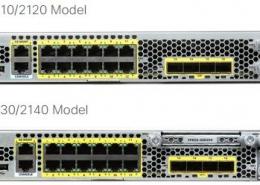 Cisco Firepower 2100 Series